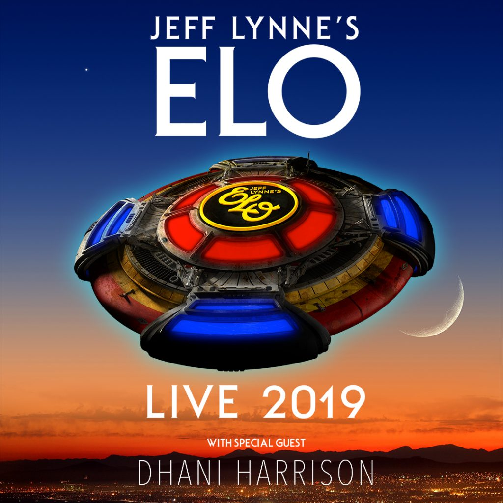 JEFF LYNNE'S ELO ADDS DHANI HARRISON TO 2019 NORTH AMERICAN SUMMER TOUR