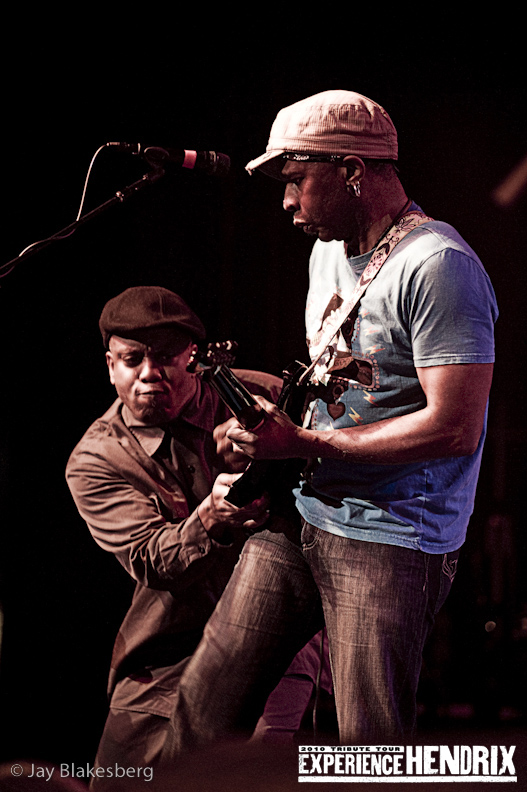 Corey Glover and Vernon Reid of Living Colour