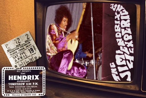Jimi Hendrix – Live In Houston Texas 1969