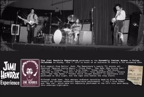Jimi Hendrix – Live In Tulsa 1970