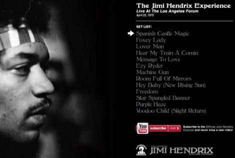 Jimi Hendrix – Live At The LA Forum 1970