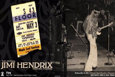 Jimi Hendrix – Live In Toronto 1969