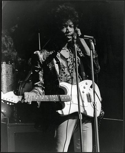 1967 The Jimi Hendrix Experience Au Saville Theatre The