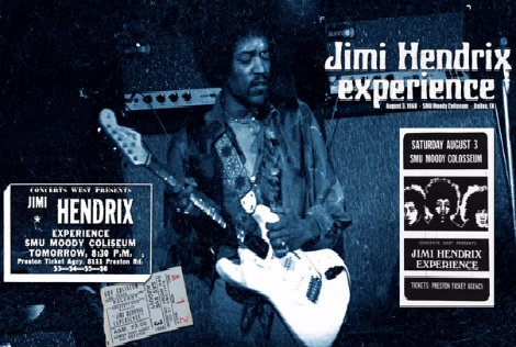 Jimi Hendrix – Live In Dallas (August 1968)
