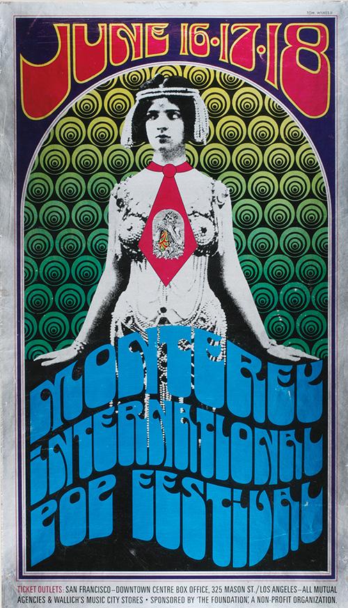 Monterey Pop Festival 1967 poster