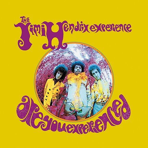 Jimi Hendrix Experience - Are You Experienced U.S. album cover