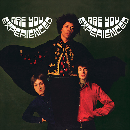 Jimi Hendrix Experience - Are You Experienced international album cover