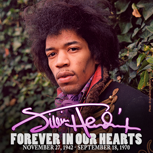Jimi Hendrix Forever In Our Hearts 1942-1970