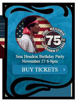 Caption for Jimi Hendrix 75th Birthday