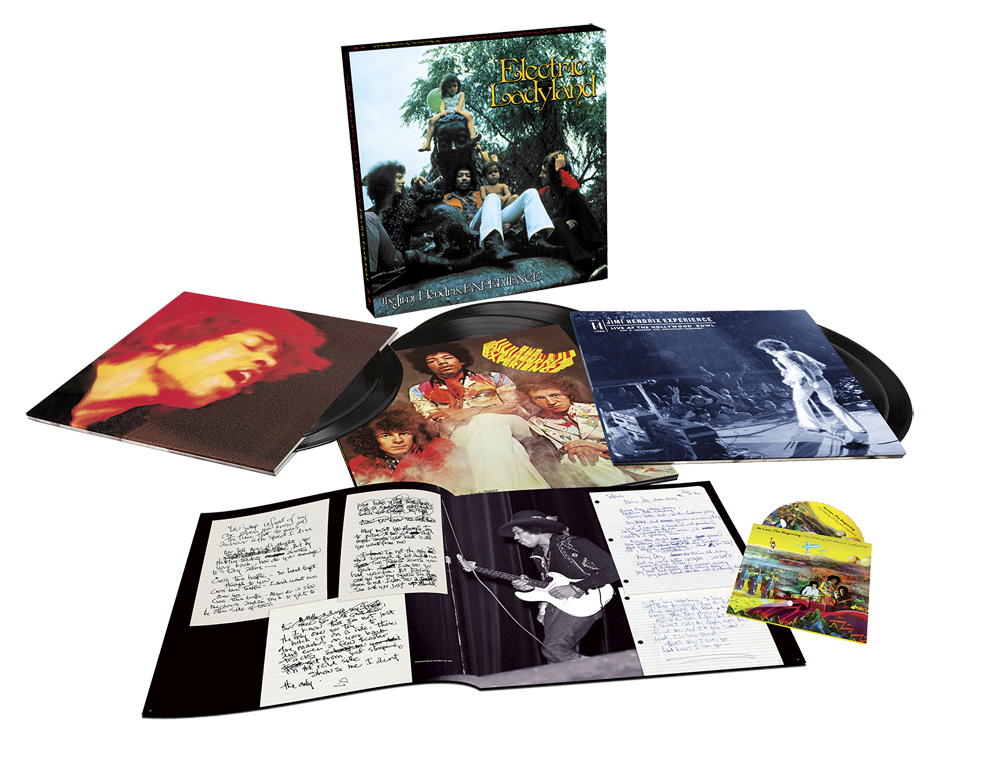 The Jimi Hendrix Experience - Electric Ladyland Deluxe 50th Anniversary Box Set product shot