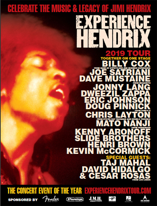 Experience Hendrix 2019 Tour