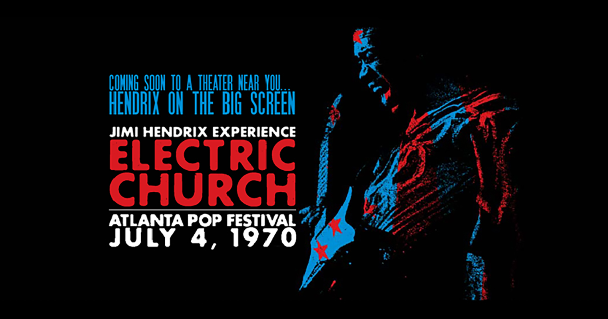 Jimi Hendrix: Electric Church' To Play In Select Theaters