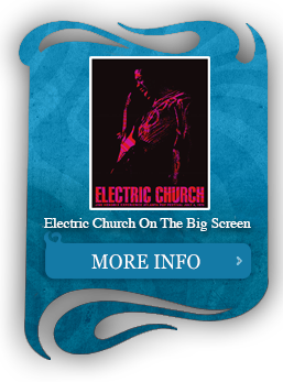 Caption for Electric Church On The Big Screen