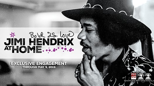 Bold As Love: Jimi Hendrix at Home exhibit at The Northwest African American Museum