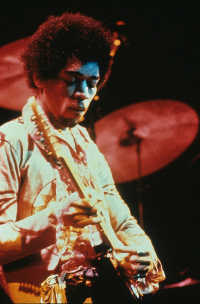 Jimi Hendrix photo by Jan Blom