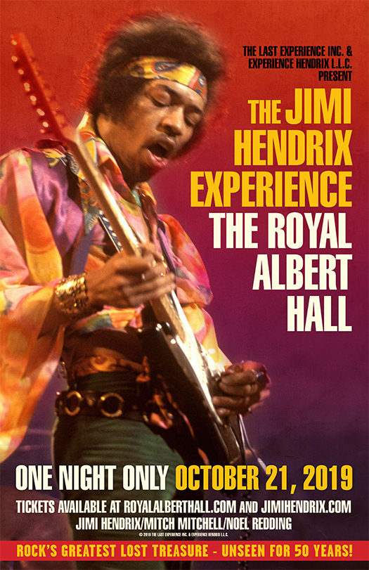 The Jimi Hendrix Experience - The Royal Albert Hall