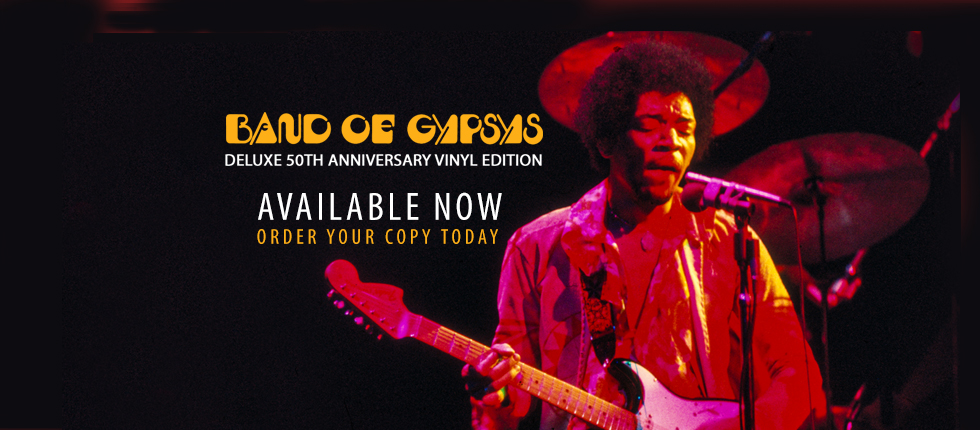 Band Of Gypsys 50th Anniversary Vinyl