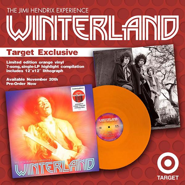 The Jimi Hendrix Experience - Winterland limited edition orange vinyl