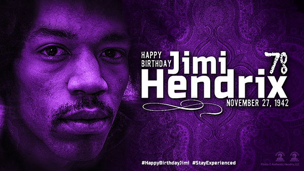 Happy Birthday Jimi Hendrix