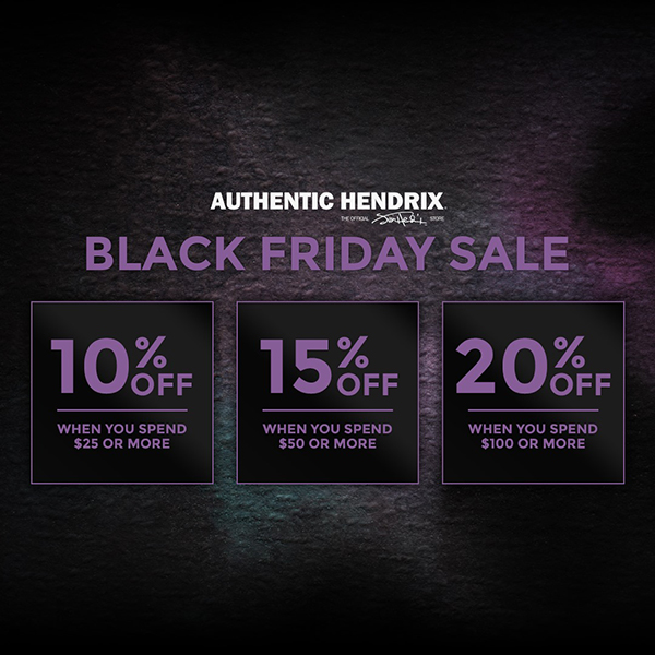 Authentic Hendrix Black Friday Sale 2020