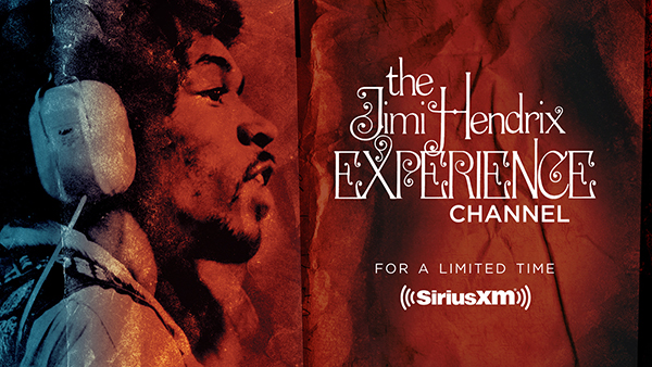 The Jimi Hendrix Experience Channel on SiriusXM