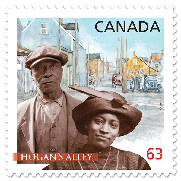 Nora Hendrix Canada postage stamp