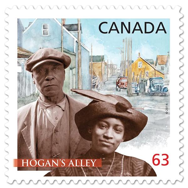Nora Hendrix Canada postage stamp