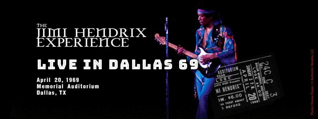 Come In, Come In: Jimi Hendrix Lands in the Lone Star State