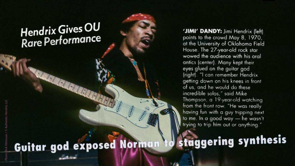 One Night Stand: The Jimi Hendrix Experience Play University of Oklahoma