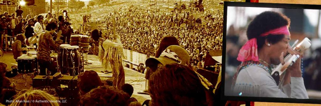 STAR SPANGLED BANNER – Jimi Hendrix At Woodstock: The Anthem of a Generation