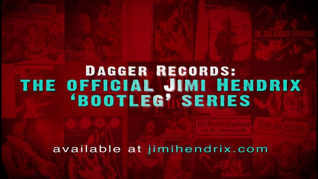 Dagger Records: Official Jimi Hendrix Bootleg Collection