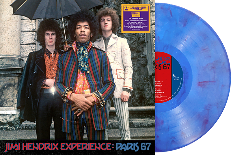 Dagger Records To Release 'Jimi Hendrix Experience: Paris 67' For Record Store Day