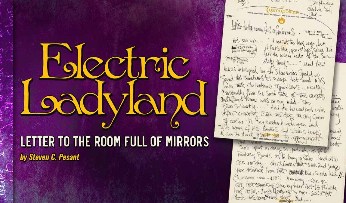 ELECTRIC LADYLAND - Letter To The Room Full Of Mirrors: A Cover Story