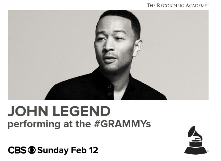 John Legend to Perform at the Grammys!