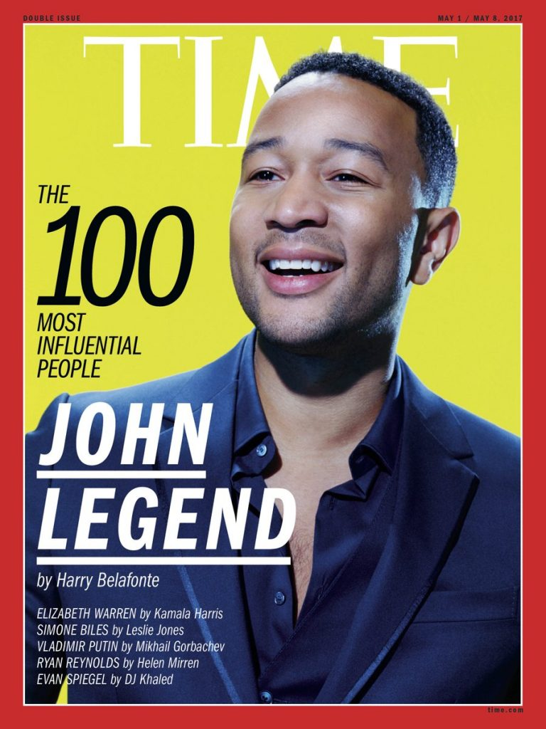 John Legend Is One of TIME's Most Influential People