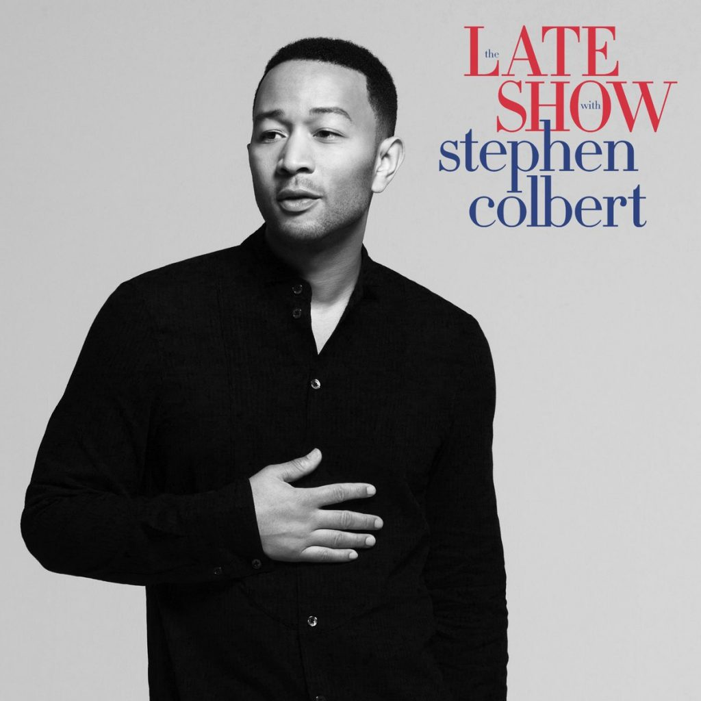 John Legend to Perform on The Late Show with Stephen Colbert