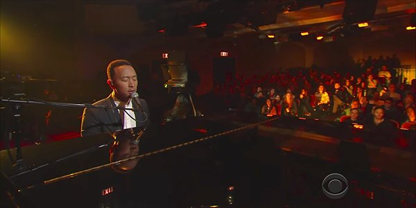 "John Legend Performs ""Surefire"" Live"
