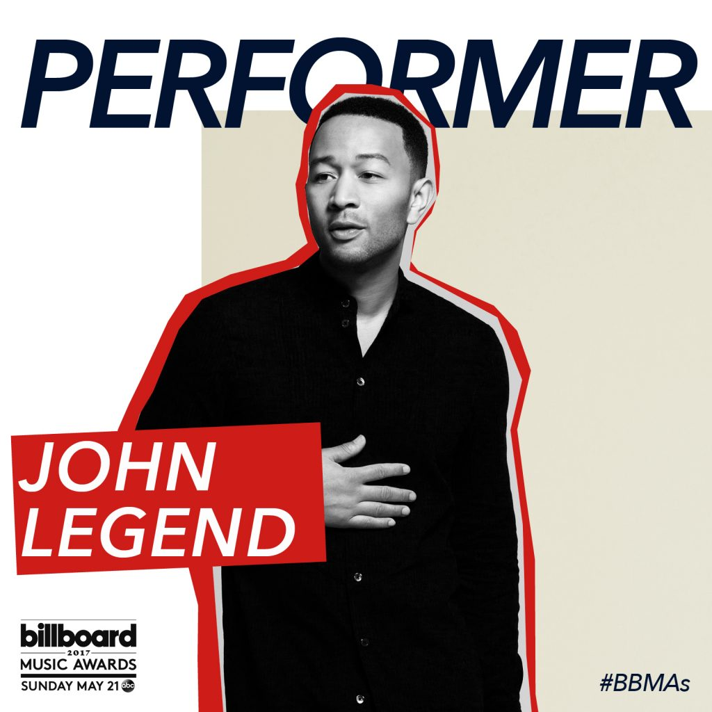John Legend to Perform at the 2017 Billboard Music Awards!