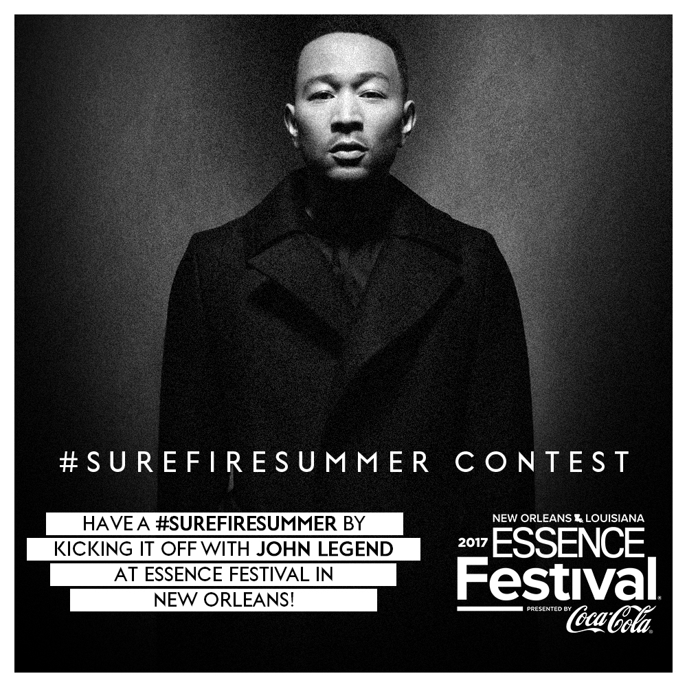 Win a Trip to Essence Festival to See John Legend Live