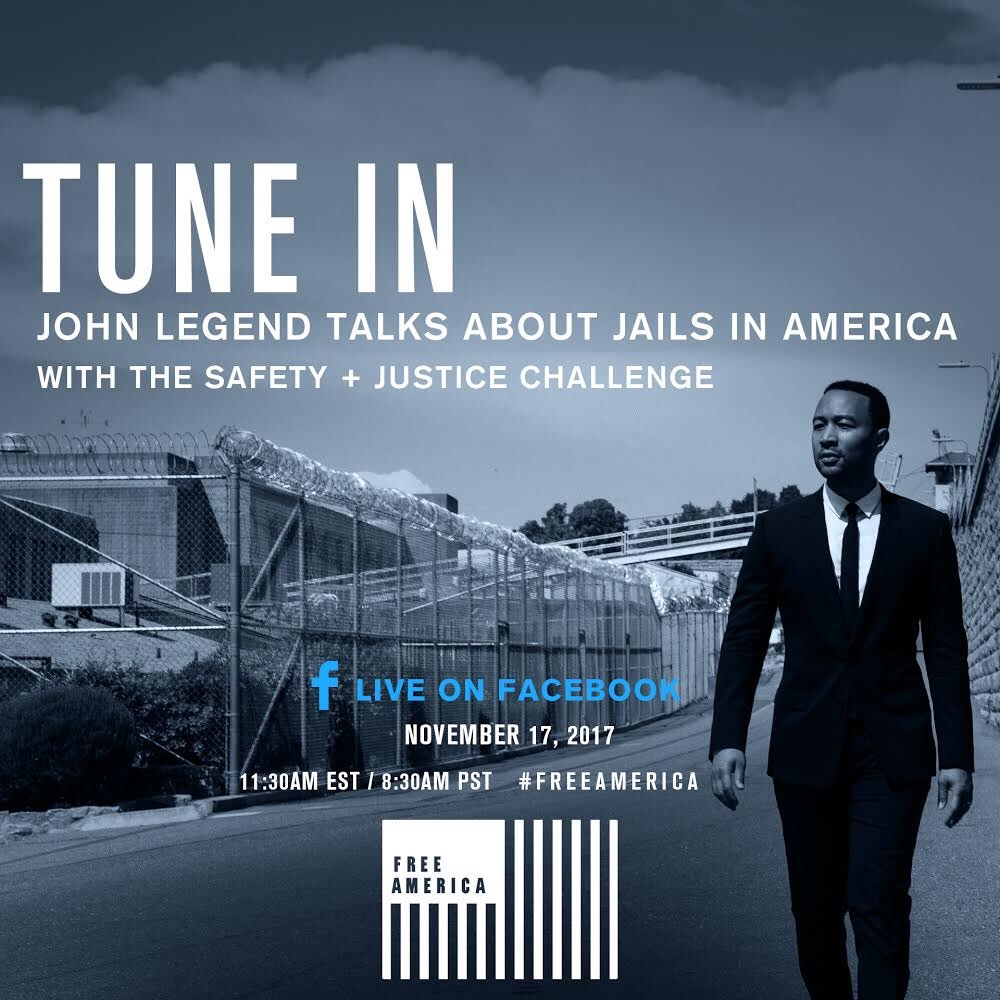 John Legend Talks About Jails In America