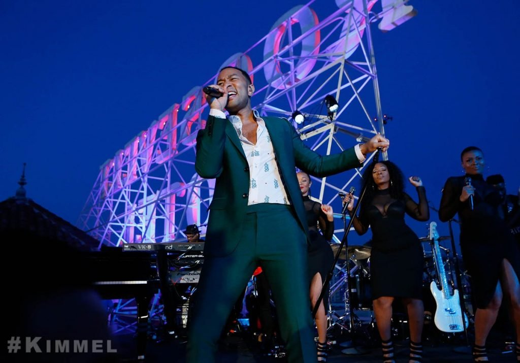 John Legend Performing Live on Jimmy Kimmel