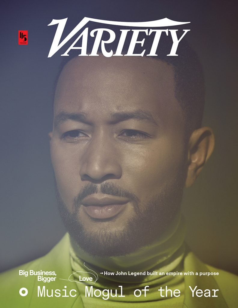 John Legend is Variety's Music Mogul of the Year