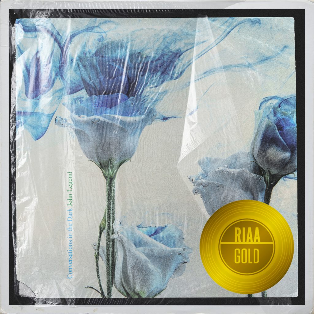 Conversations In The Dark is RIAA Gold Certified