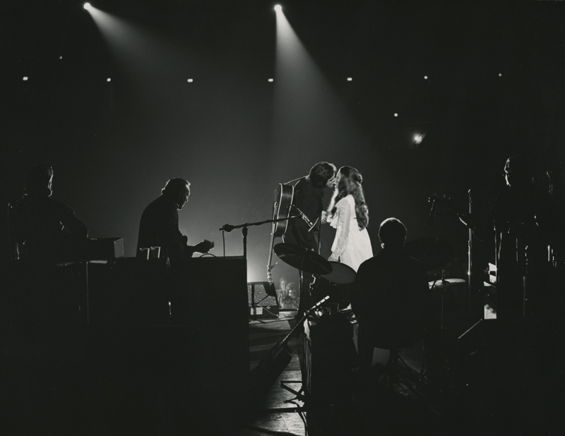 Johnny Cash And June Carter Cash Photo From Jackson Performance