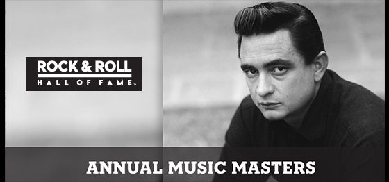 Johnny Cash Rock and Roll Hall of Fame 21st Annual Music Masters