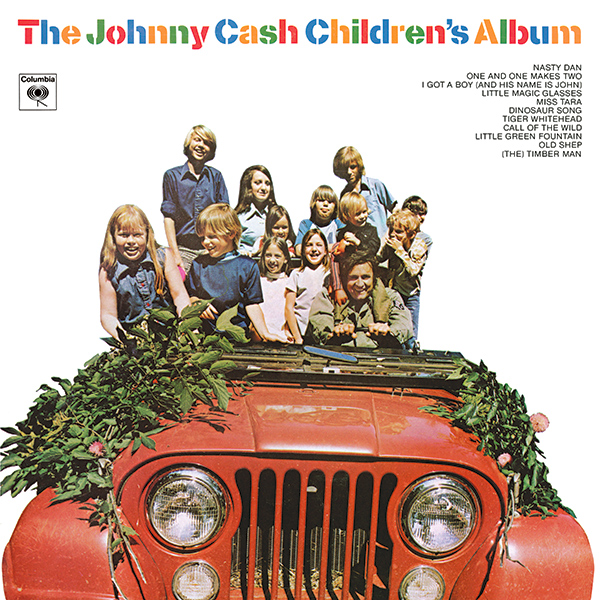 Johnny Cash - The Johnny Cash Children's Album - 1LP black vinyl