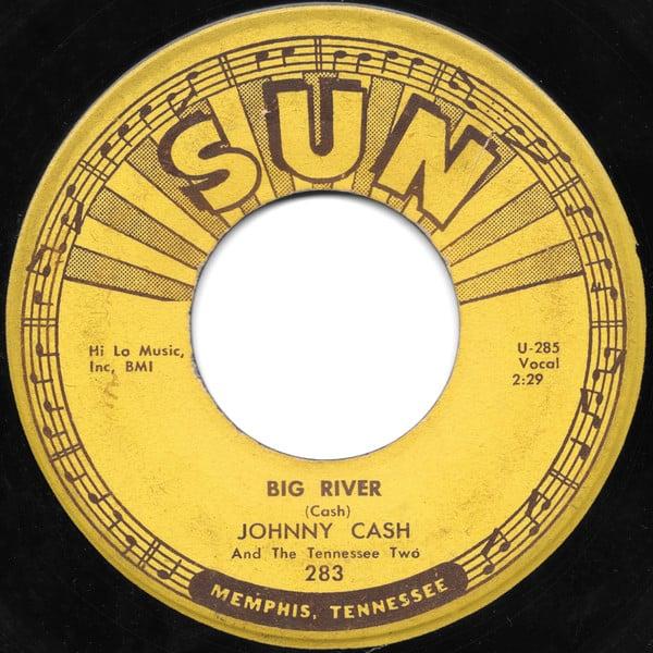 Johnny Cash - Big River single