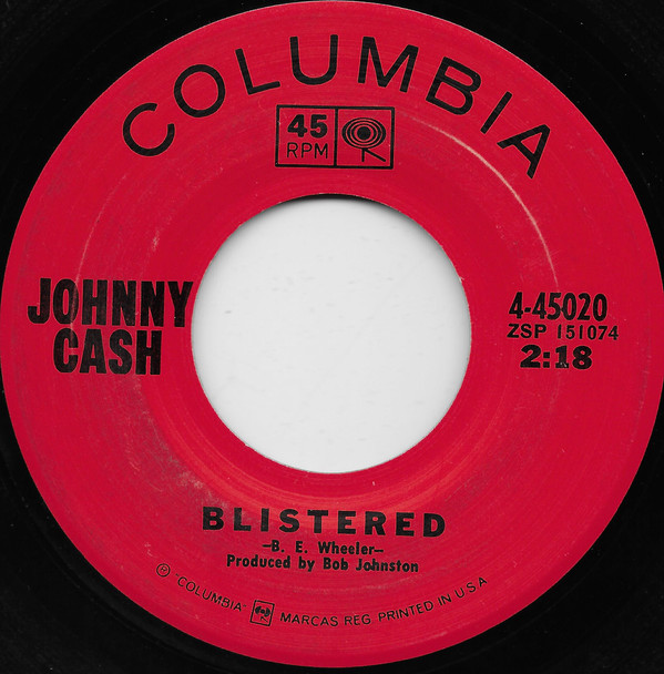 Johnny Cash - Blistered single