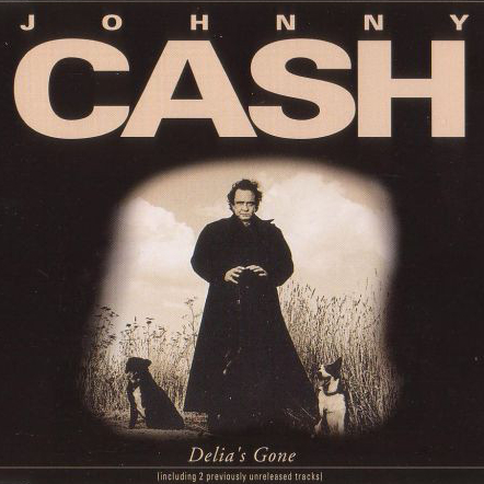 Johnny Cash - Delia's Gone European CD single