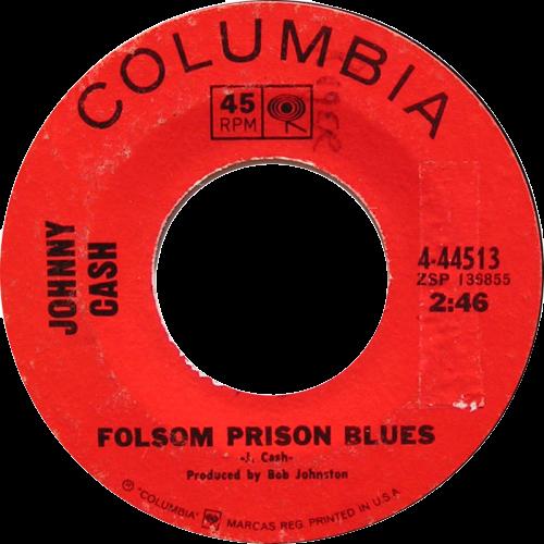 Johnny Cash - Folsom Prison Blues (Live) single